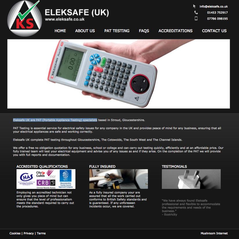 professional website development + website design Gloucestershire from Mushroom Internet Ltd Stroud