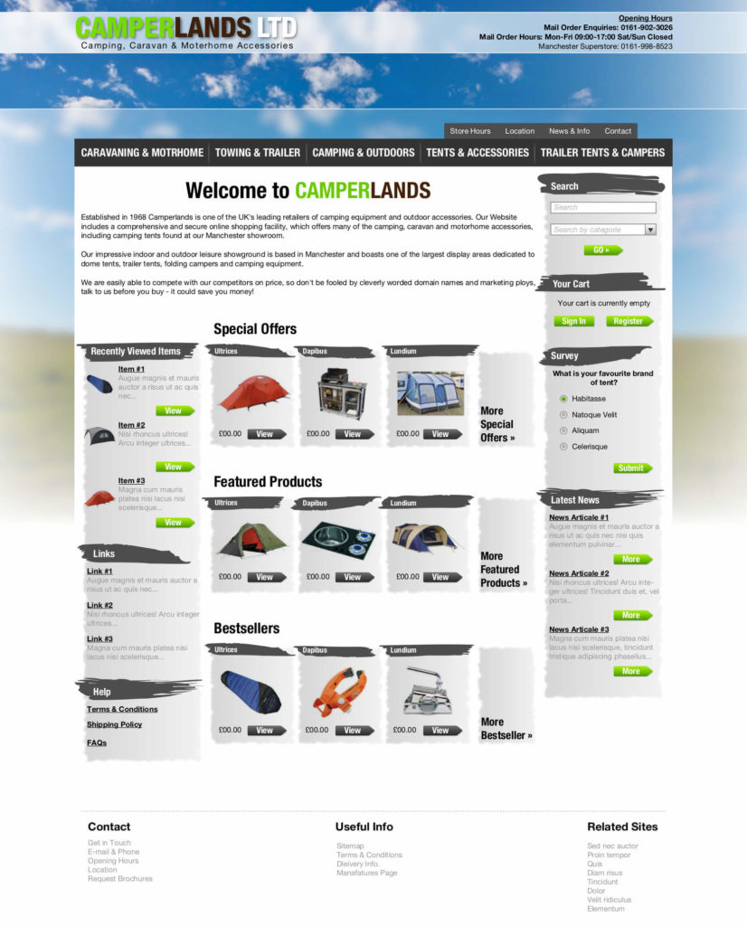 professional website design gloucestershire from Mushroom Internet Ltd