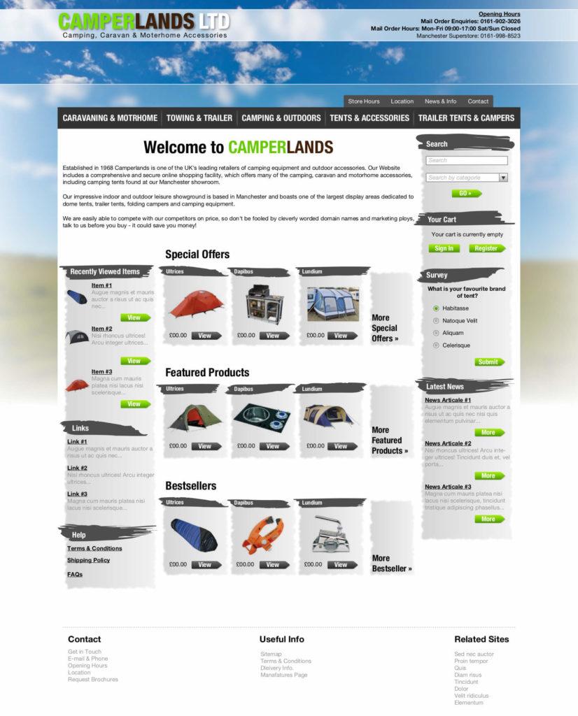 professional website design gloucestershire from Mushroom Internet Ltd