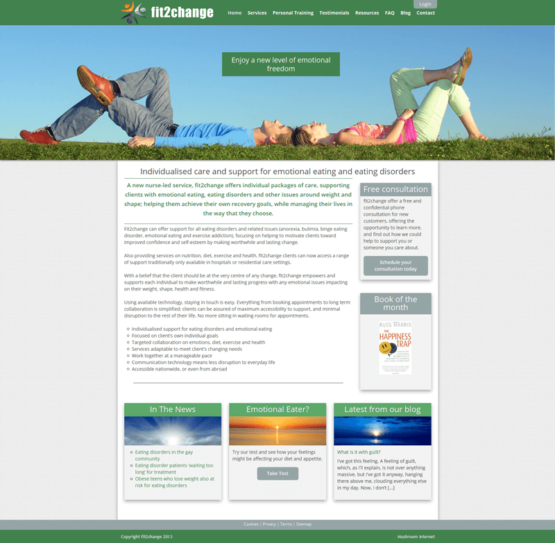 Mushroom Internet, website design gloucestershire, contact us toady for enquires