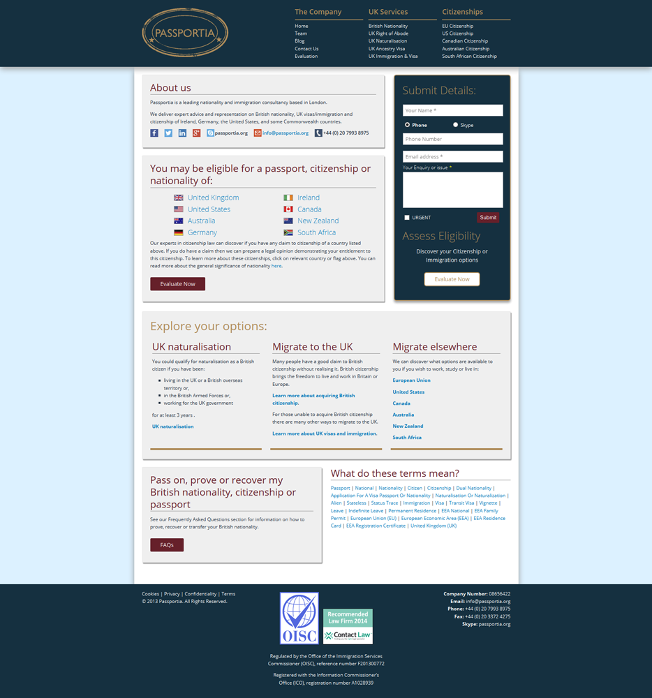 Coswolds website design services, professional print design by Mushroom Internet Ltd