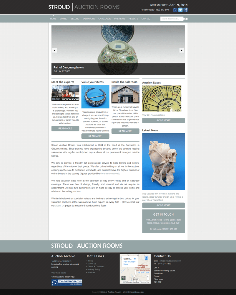 Mushroom Internet, website design gloucestershire